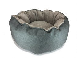 Big Shrimpy - Catalina Plush Bed - Cloudy - Small