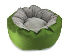 Big Shrimpy - Catalina Plush Bed - Lime - Small