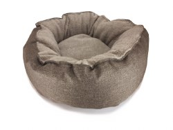 Big Shrimpy - Catalina Plush Bed - Mocha - Small