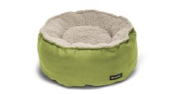 Big Shrimpy - Catalina Plush Bed - Leaf - Medium