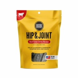 Bixbi Hip and Joint - Beef Liver Jerky - Dog Treats - 12 oz