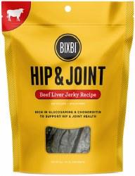 Bixbi Hip and Joint - Beef Liver Jerky - Dog Treats - 5 oz