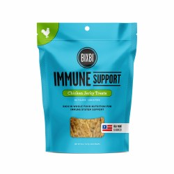 Bixbi Immune Support - Chicken Jerky - Dog Treats - 5 oz