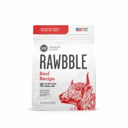 Bixbi Rawbble - Freeze Dried - Beef - Dog Food - 4.5 oz