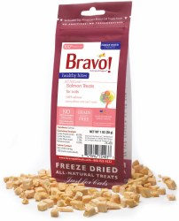 Bravo - Healthy Bites Salmon - Cat Treats - 1 oz