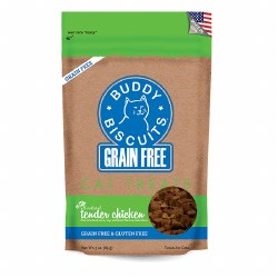 Buddy Biscuits - Cat Treats - Tender Chicken - 3 oz