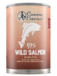 Canine Caviar - 97% Salmon - Canned Dog Food - 13 oz