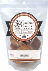 Canine Caviar - Dried Sweet Potato Treats - 6 oz