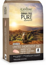 Canidae Grain Free - Pure Elements with Fresh Chicken - Dry Cat Food - 2.5 lb