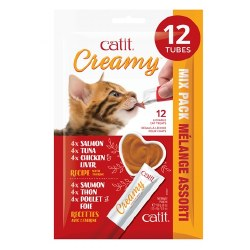 Catit - Creamy - Cat Treats - Variety Pack - 12 pack