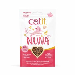 Catit - Nuna - Cat Treats - Insect Protein and Chicken - 2 oz