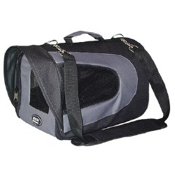 Cetacea - Airline Pet Carrier - Black - Small