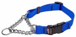 Cetacea - Chain Martingale Collar - Blue - Medium