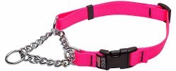 Cetacea - Chain Martingale Collar - Pink - Medium