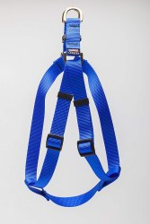 Cetacea - Step-In Harness - Blue - Large