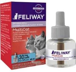 Feliway - Mutli Cat - Conflict and Tension Diffuser - Refill