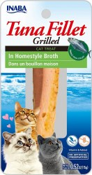 Inaba - Ciao Cat Treats - Tuna Fillet in Homestyle Broth - 0.52 oz