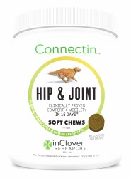 InClover Connectin - Hip & Joint Soft Chews - Dog Supplement - 100 ct