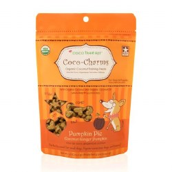 CocoTherapy - Dog Treats - Coco-Charms - Pumpkin Pie Training Treats - 5 oz