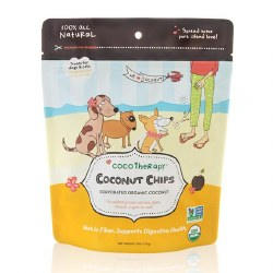 CocoTherapy - Dog Treats - Coconut Chips - 6 oz