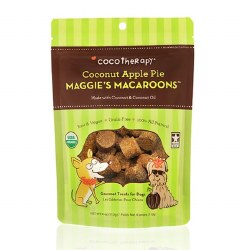 CocoTherapy - Dog Treats - Maggie's Macaroons - Coconut Apple Pie - 4 oz