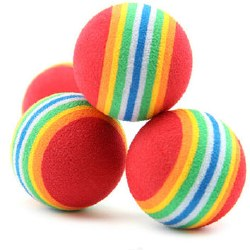Boca - Cat Toys - Cosmic Rainbow Ball