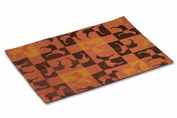 Crypton Placemat - Gameboard - Caramel - 26x18""