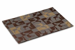 Crypton Placemat - Gameboard - Chestnut - 26x18""