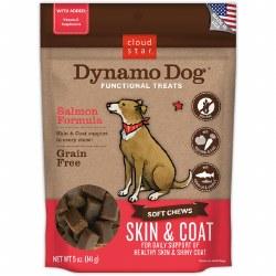 Cloud Star - Dog Treats - Dynamo Dog - Skin & Coat with Salmon - 5 oz