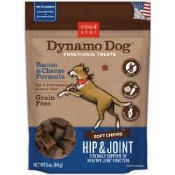 Cloud Star - Dog Treats - Dynamo Dog - Hip & Joint with Bacon - 5 oz