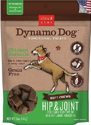 Cloud Star - Dog Treats - Dynamo Dog - Hip & Joint with Chicken - 5 oz