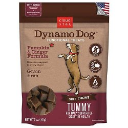 Cloud Star - Dog Treats - Dynamo Dog - Tummy with Pumpkin & Ginger - 5 oz