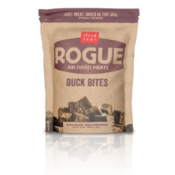 Cloud Star - Dog Treats - Rogue - Duck Bites - 6.5 oz
