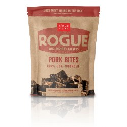Cloud Star - Dog Treats - Rogue - Pork Bites - 7.8 oz