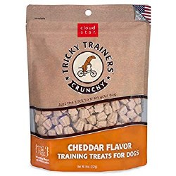 Cloud Star - Dog Treats - Tricky Trainers - Crunchy Cheddar - 8 oz