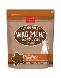 Cloud Star - Dog Treats - Wag More Bark Less - Grain Free Soft & Chewy Savory Duck - 5 oz