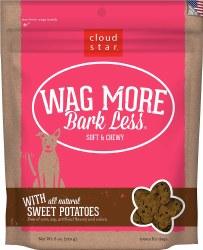 Cloud Star - Dog Treats - Wag More Bark Less - Soft & Chewy Sweet Potato - 6 oz