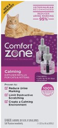 Comfort Zone - Cat Calming Diffuser Refill - 2 pack