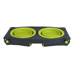 Dexas - Adjustable Raised Diner - Green - 4 cups