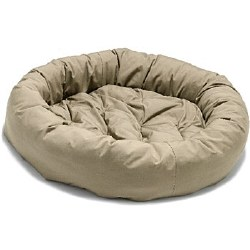 Dog Gone Smart - Donut Bed - Sand - 35""