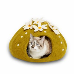 Dharma Dog Karma Cat - Felted Bed - Cactus Cave