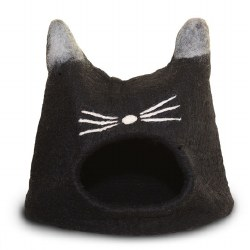 Dharma Dog Karma Cat - Felted Bed - Cat Cave