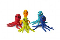 Dharma Dog Karma Cat - Cat Toy - Octopus - 3 pack
