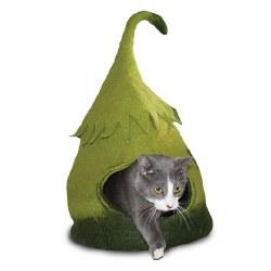 Dharma Dog Karma Cat - Fairy House Cave - Green