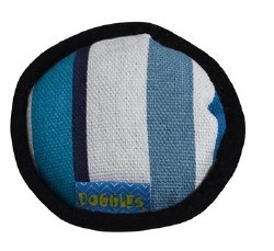 Doggles - Cat Toy - Catnip Disc - Blue Stripe