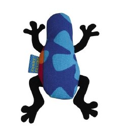 Doggles - Cat Toy - Catnip Frog - Blue Hawaiian