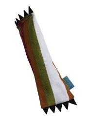 Doggles - Cat Toy - Catnip Kick - Maroon Stripe - Large