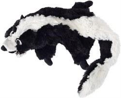 Doggles - Dog Toy - Plush Bottle - Black Skunk