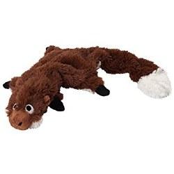 Doggles - Dog Toy - Plush Bottle - Brown Hedgehog