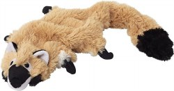 Doggles - Dog Toy - Plush Bottle - Tan Raccoon